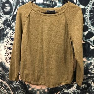Karen scott ~ green long sleeve/ sweater